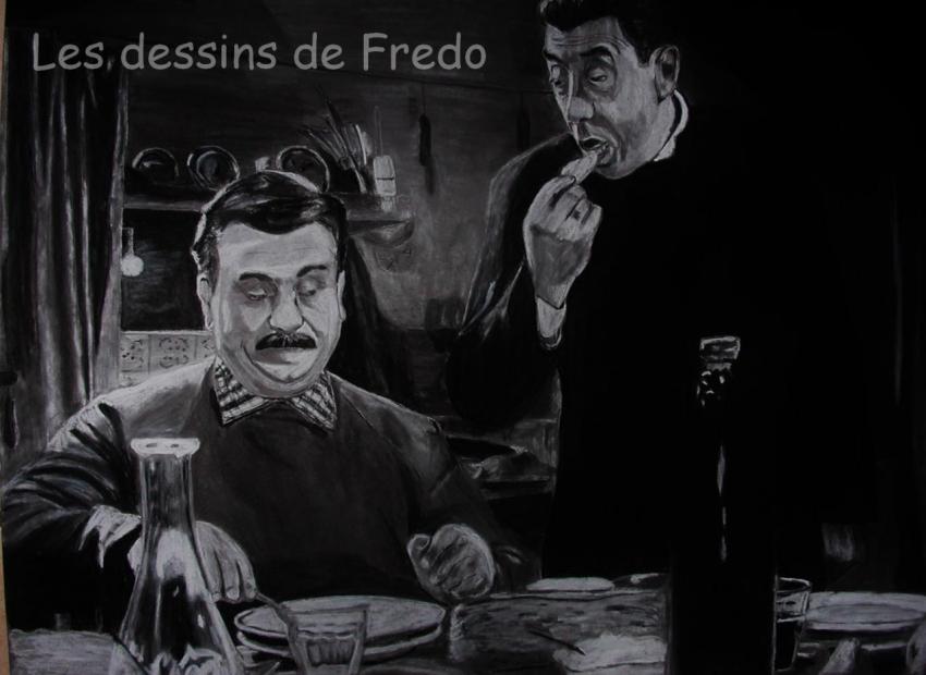 Gino Cervi, Fernandel by fredo